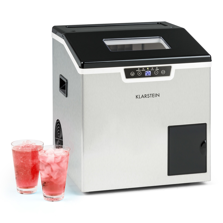 Klarstein Icefestival Cube, výrobník ľadu, 400 W, 1,9 l, 20 kg/24 hod.
