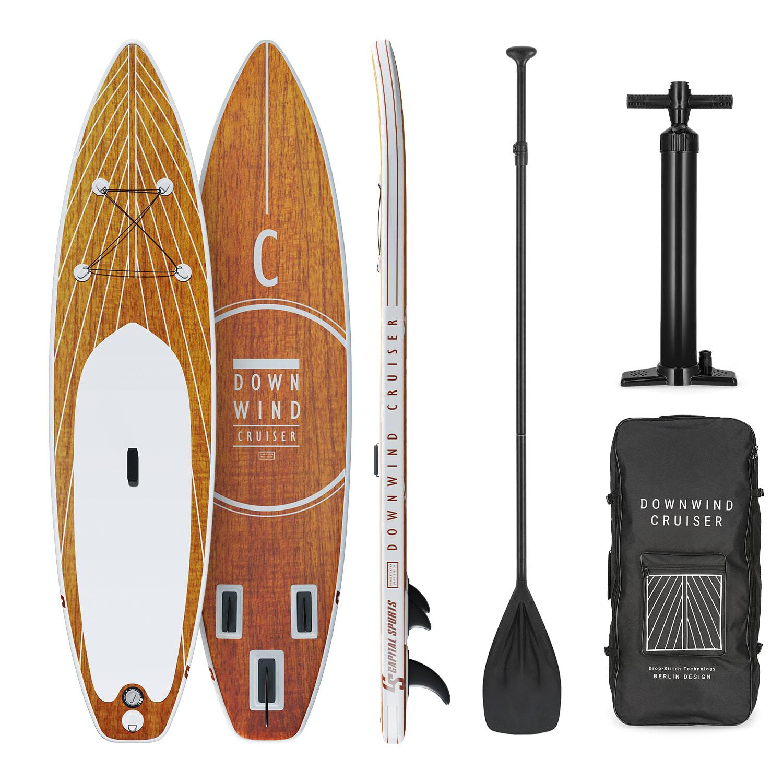 Capital Sports Downwind Cruiser 10.8, nafukovací paddelboard, kompletní sada