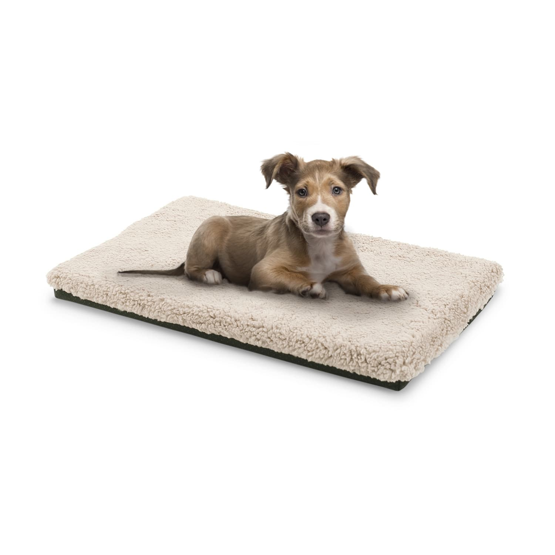 Brunolie Luna, pelíšek pro psa, psí podložka, pratelný, ortopedický, protiskluzový, prodyšný, paměťová pěna, velikost S (60 x 5 x 40 cm)