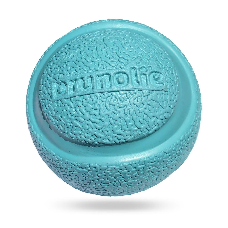 Brunolie Gumový míč, hračka pro psa, pevná při zahryznutí, plave, 100% přírodní kaučuk