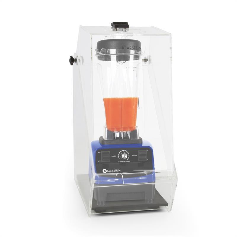 Levně Herakles 3G, modrý, stolní mixér s krytem, 1500 W, 2,0 k, 2 litry, bez BPA