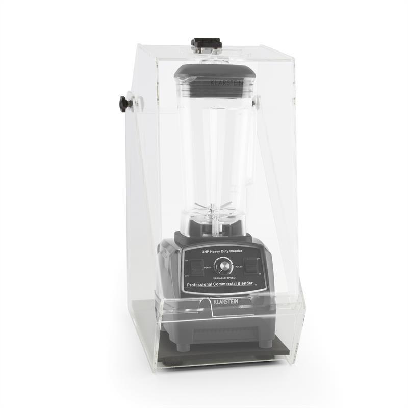 Klarstein Herakles 2G, čierny, stolný mixér, s krytom, 1200 W, 1,6 k, 2 litre, bez BPA