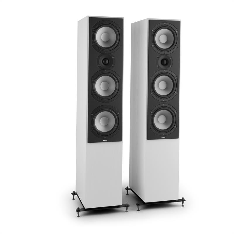 Numan Reference 801, bílé, třípásmové věžové reproduktory, pár
