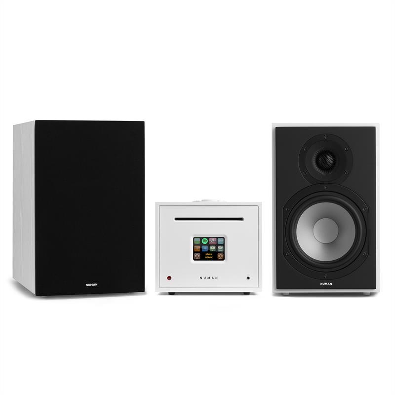 Numan Unison Reference 802 edice – stereo systém, zesilovač, reproduktory + kryt