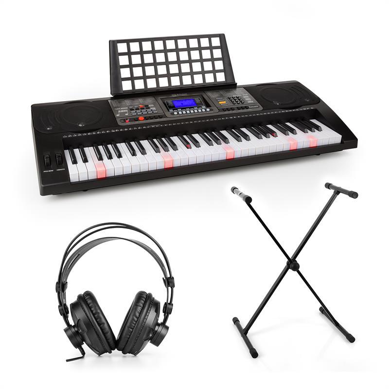 SCHUBERT Etude 450, set cvičný elektronický klavír, studiové sluchátka, stojan na klávesy