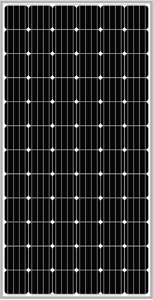 Solar-Power Monocrystalline Solar Panels – Large