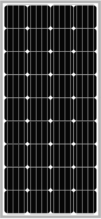 Solar-Power Monocrystalline Solar Panels – Small