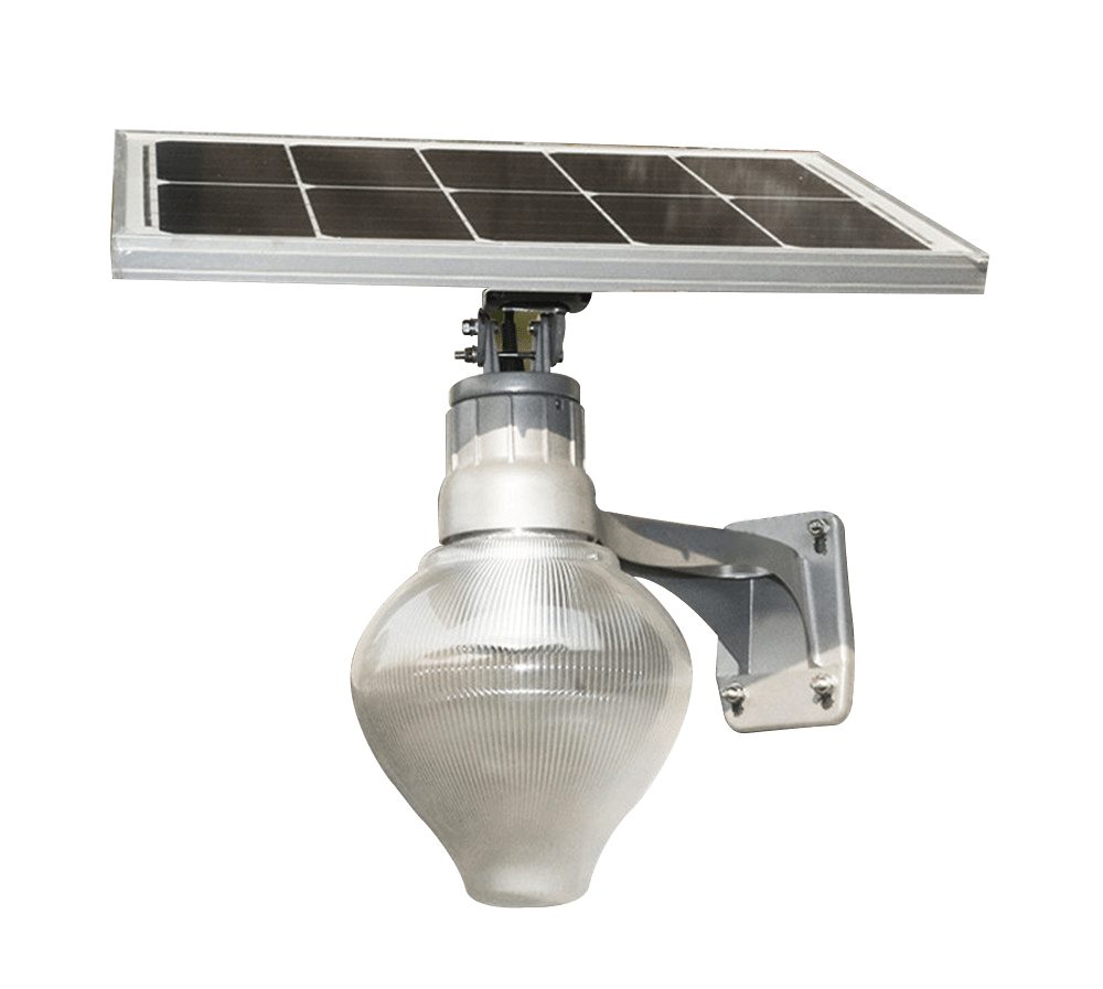 Outdoor Solar Pear Luminaire 15W from solar-power