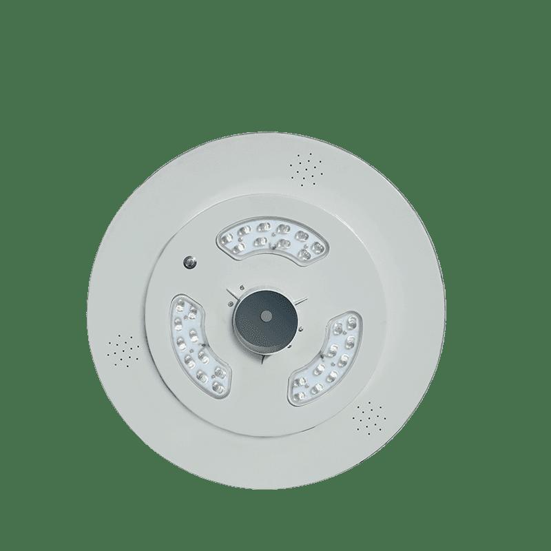 Solar-Power Luminaria Solar Exterior UFO 15W