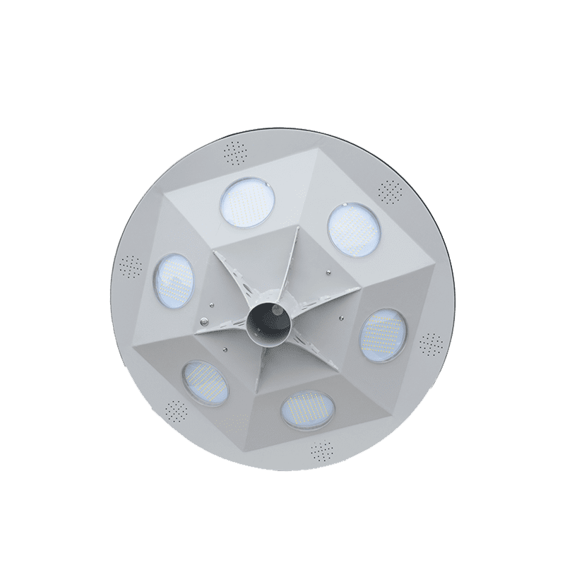 Solar-Power UFO 30W Outdoor Solar Luminaire