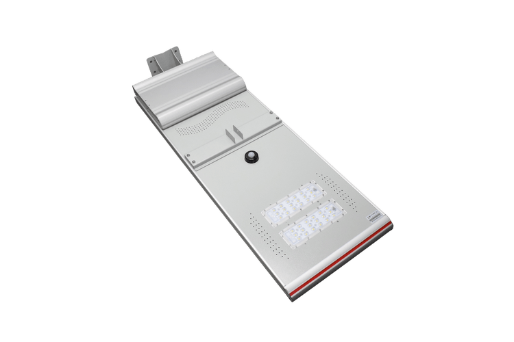 Solar-Power 50-60W Integrated Solar Luminaire