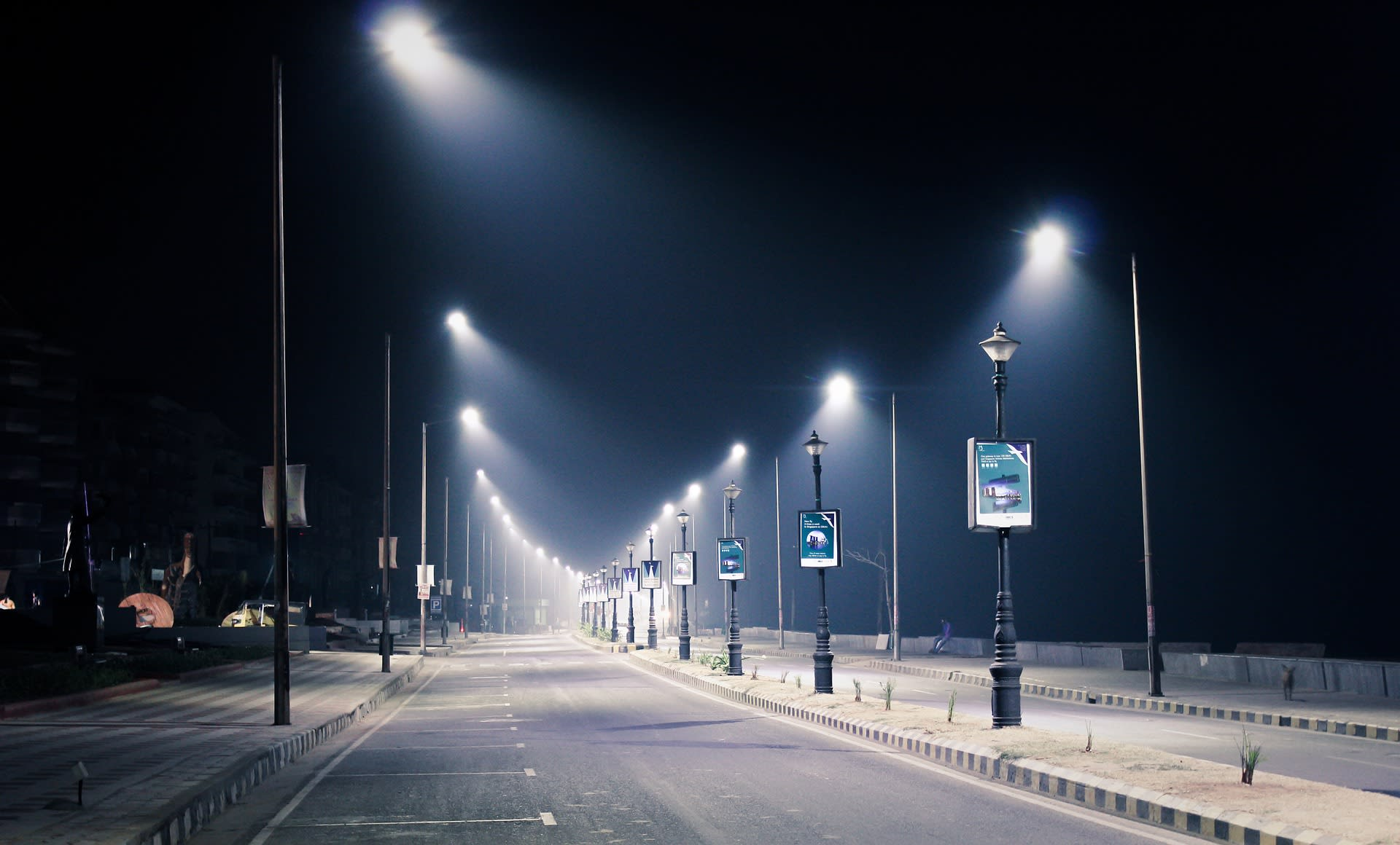 solar-power Connected Luminaires