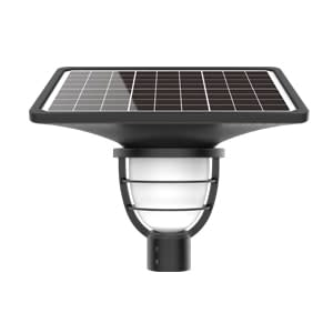 Solar-Power Luminaria Solar Lighthouse