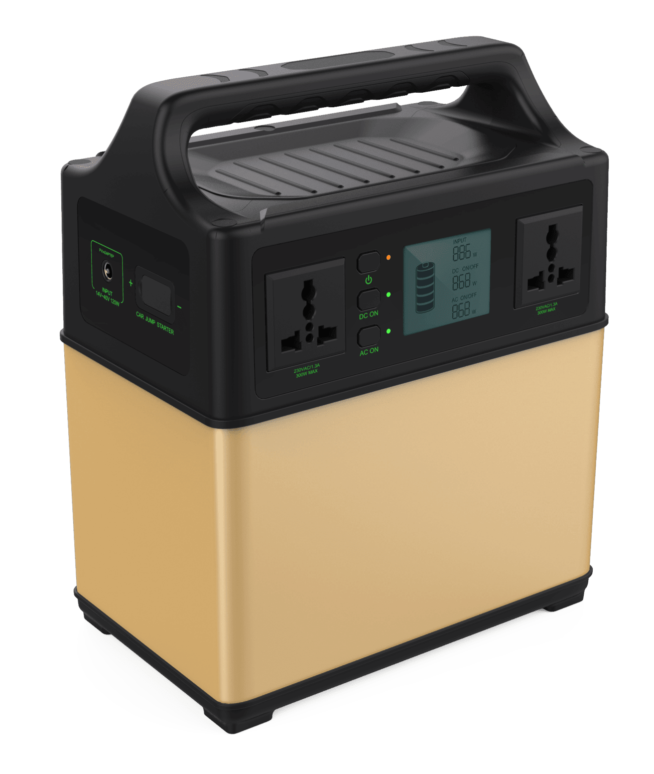 Portable Solar Power Backup 400Wh from UpSolar