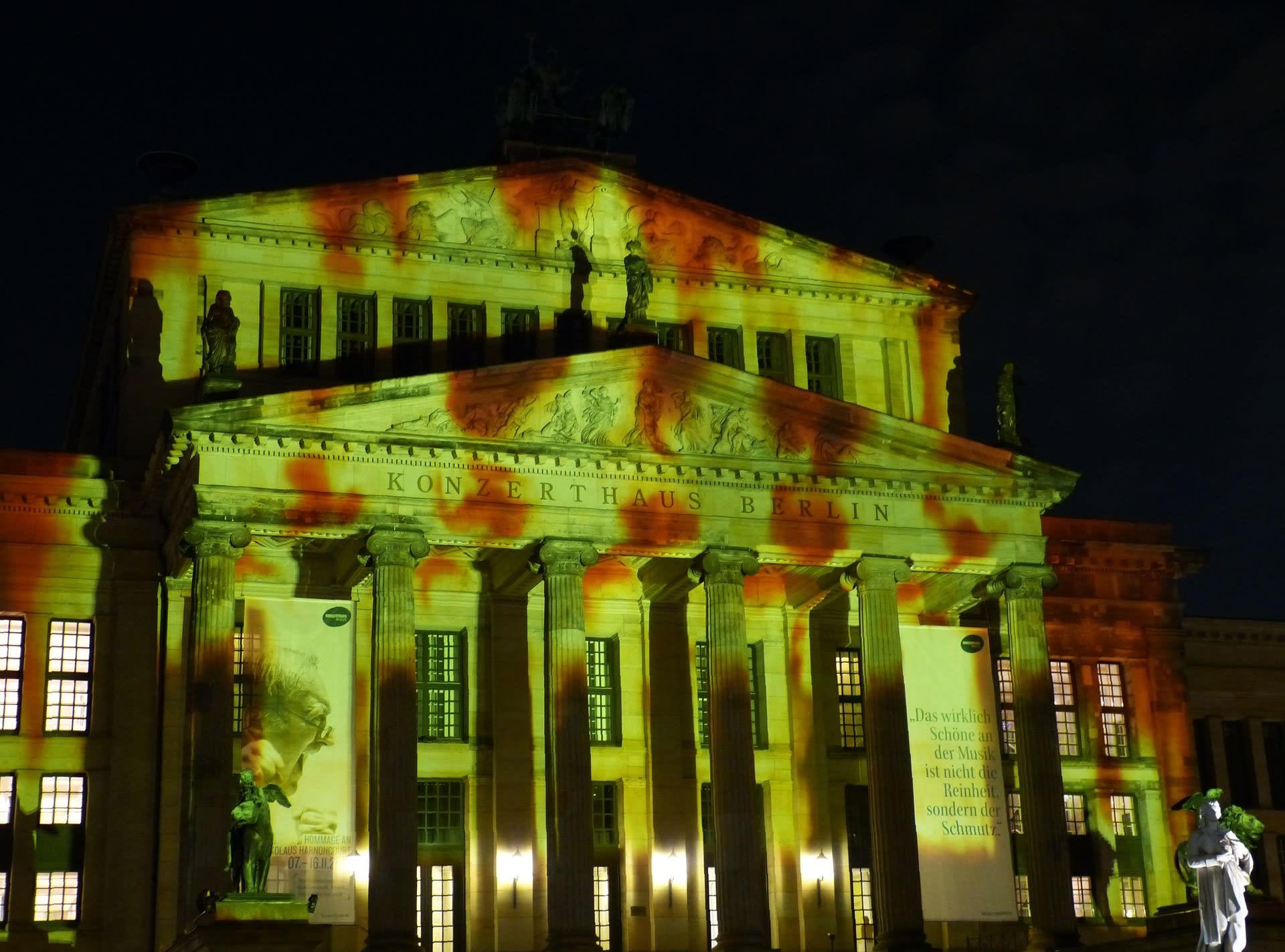 Solución para Iluminación con proyección de imagenes