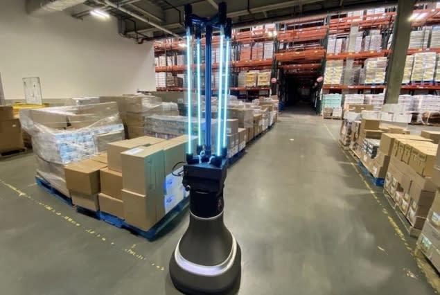 CSAIL UV-C Robot MedLight