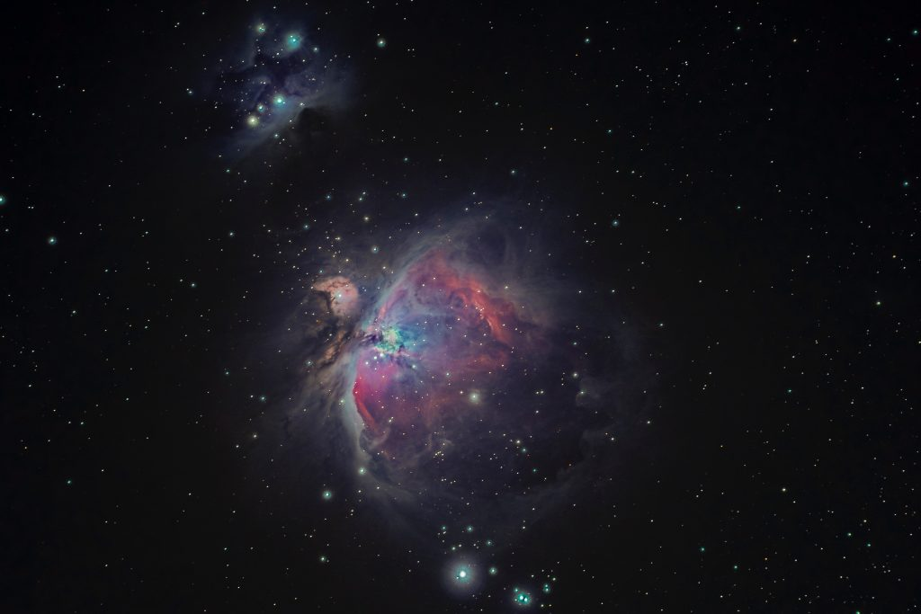 Photo of the cosmos in all of its randomness