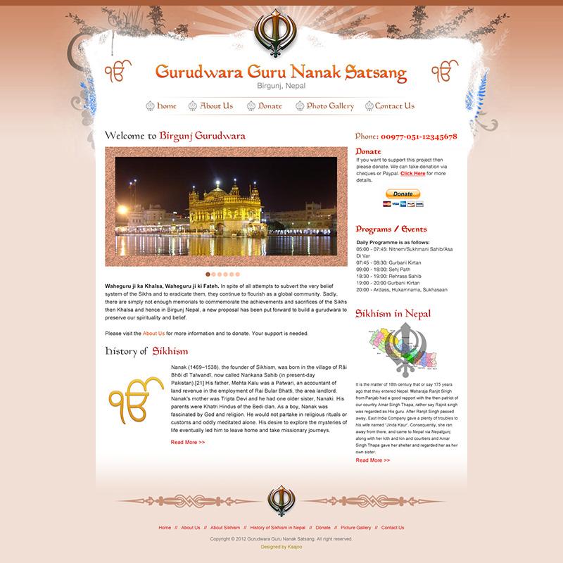 Gurudwara Satsang Birgunj
