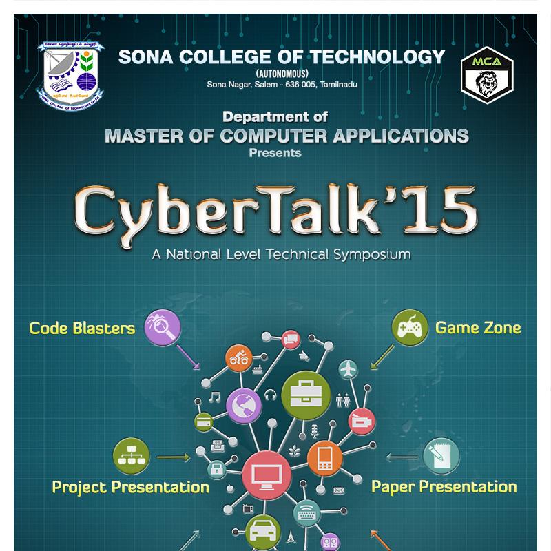 CyberTalk Sona College of Technology
