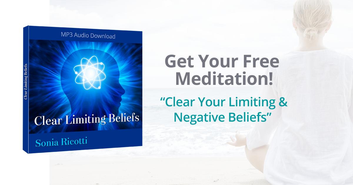 riccottimeditation - FREE massive success meditation mp3 from Sonia Ricotti: & 'Bounce Back Big'!