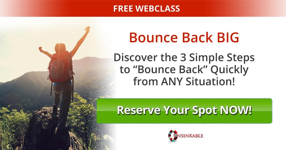 "riccottiwebclass - FREE webclass from Sonia Ricotti of 'Bounce Back Big"" fame"
