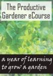 The Productive Gardener e-Course