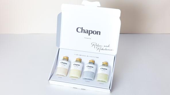 Chaponのお風呂体験セットはポストに届くので、再配達の心配不要。土日もゆっくり寝て、夜に楽しみましょう。
