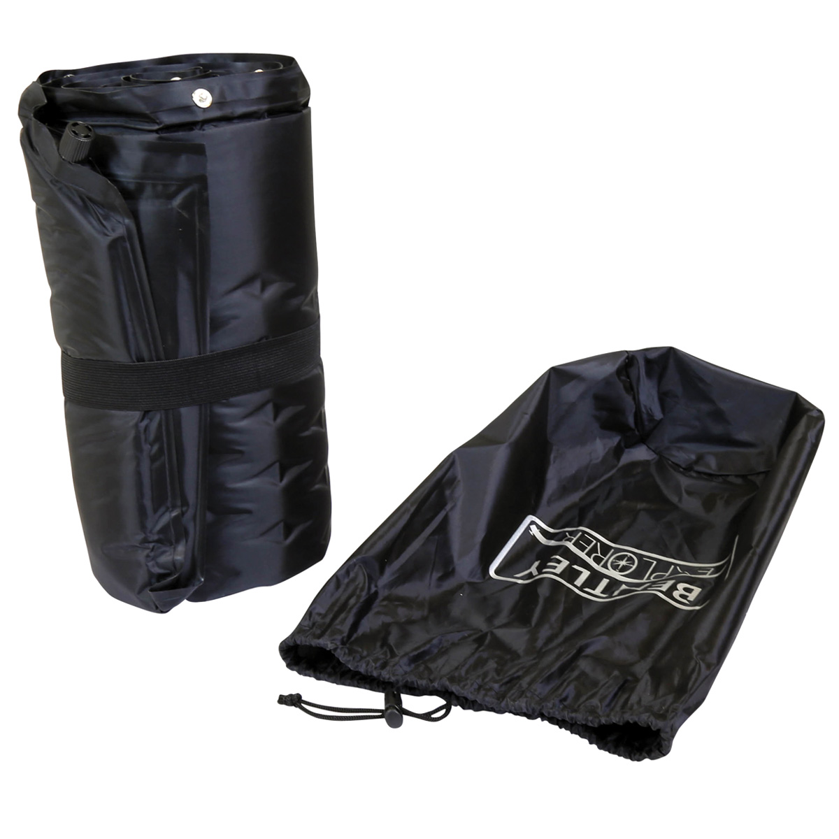 Charles Bentley Double Self-Inflating Camping Mat with Pillow