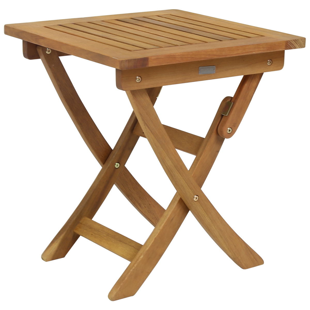 Charles Bentley FSC Eucalyptus en bois petit pliable Side Table