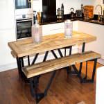 Sunningdale Recycled Elm Rectangular Dining Set