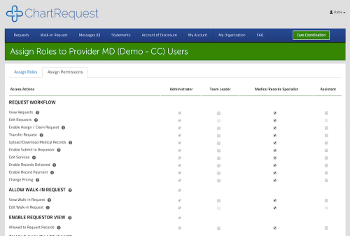 Assign advanced user roles & permission sets in your organization settings