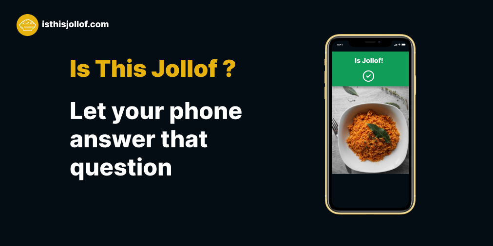 Is This Jollof ?