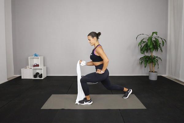Fitness con oggetti da casa