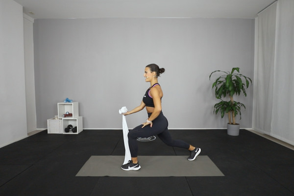 Towel workout