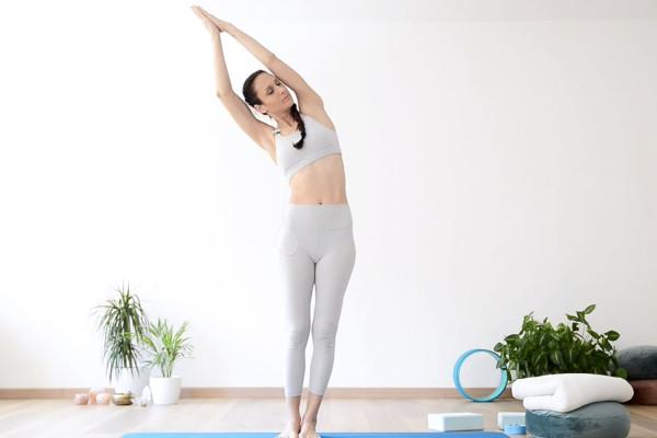 Pratica yogica rilassante
