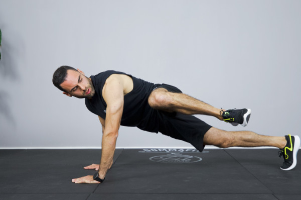 Plank & glutes workout