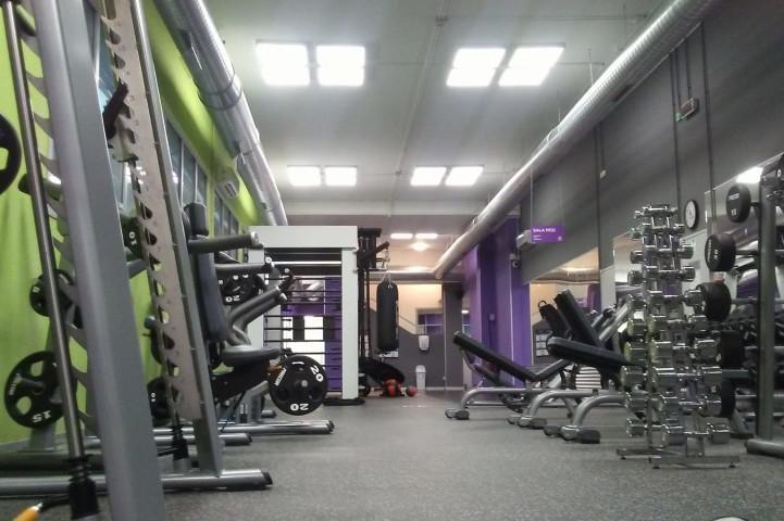 Palestra Anytime Fitness Manusardi  Milano
