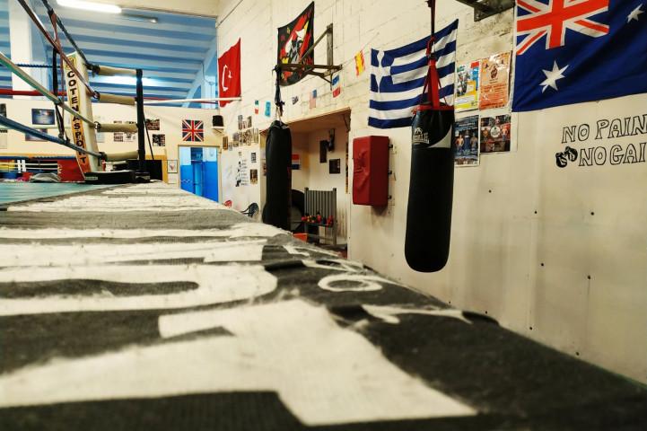 Palestra Cotena Boxing Club Napoli