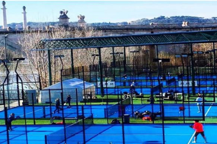 Palestra Bailey Padel Club Roma