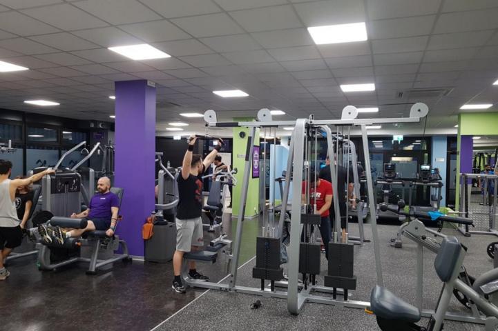 Palestra Anytime Fitness Crispolti Roma