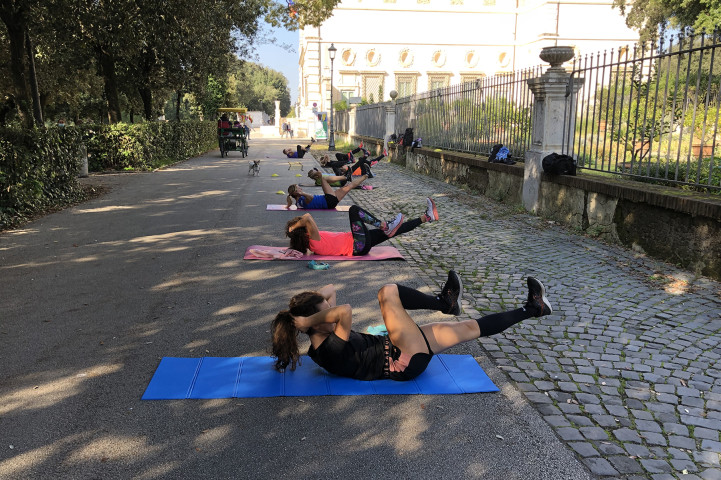 Palestra Betude Fitness Galleria Borghese Roma