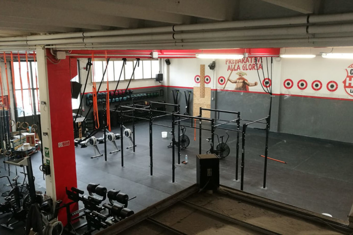 Palestra CrossFit The Hole Reggio_emilia