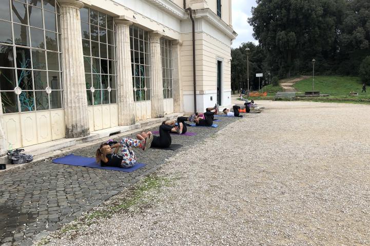 Palestra Betude Fitness Villa Torlonia Roma