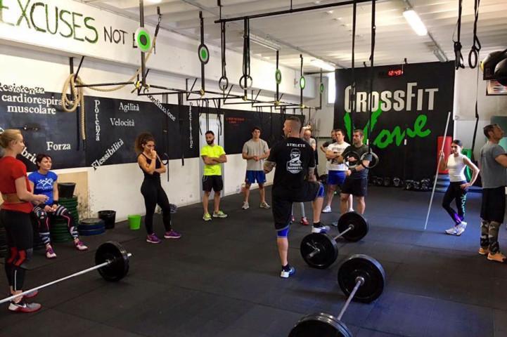 Palestra CrossFit V-one Varese