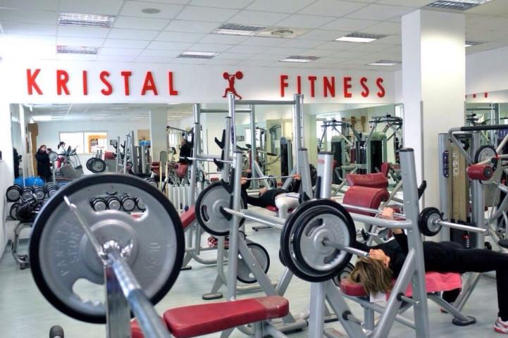 Palestra Kristal Fitness  Roma