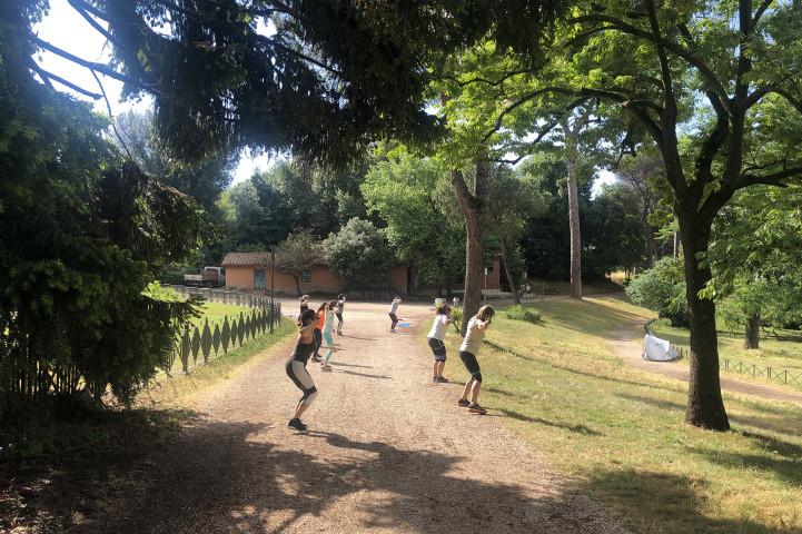 Palestra Betude Fitness Villa Pamphili Roma