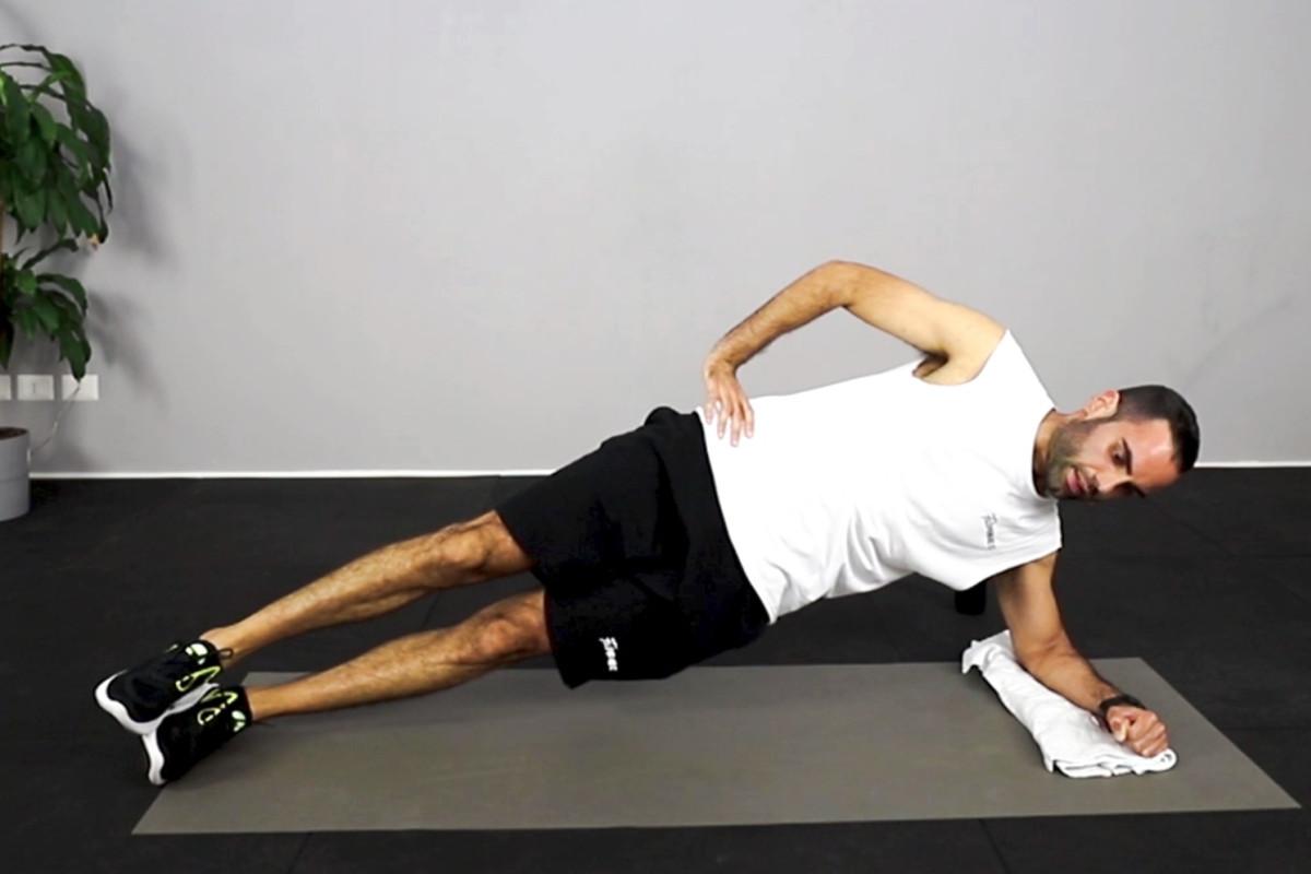 Core & cardio workout