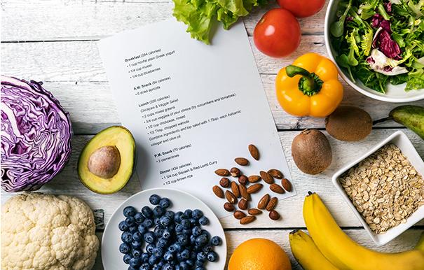Piano nutrizionale
