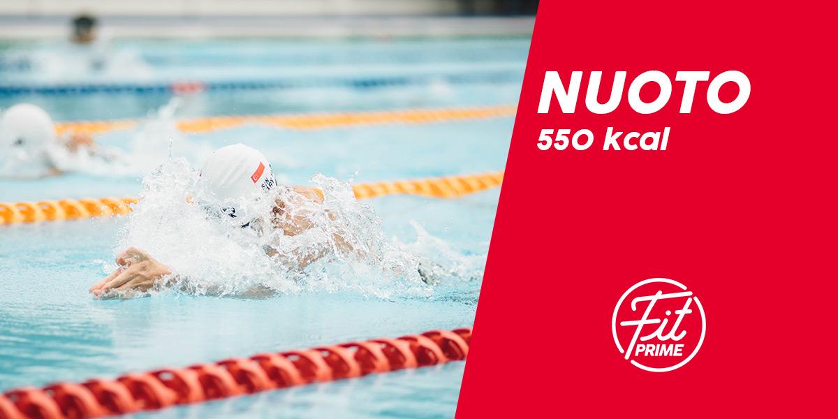 calorie bruciate con il nuoto