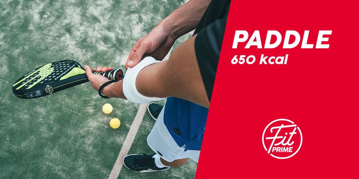 Calorie per una partita di paddle tennis